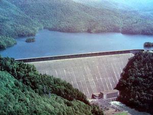 Fontana Dam and Reservoir